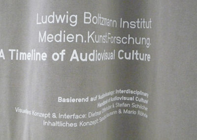 A Timeline of Audiovisual Culture