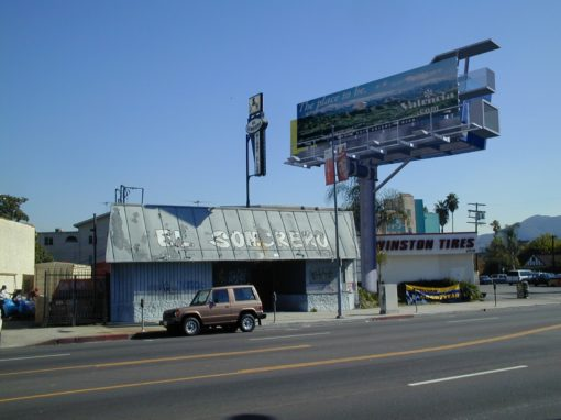 LA Billboard Houses