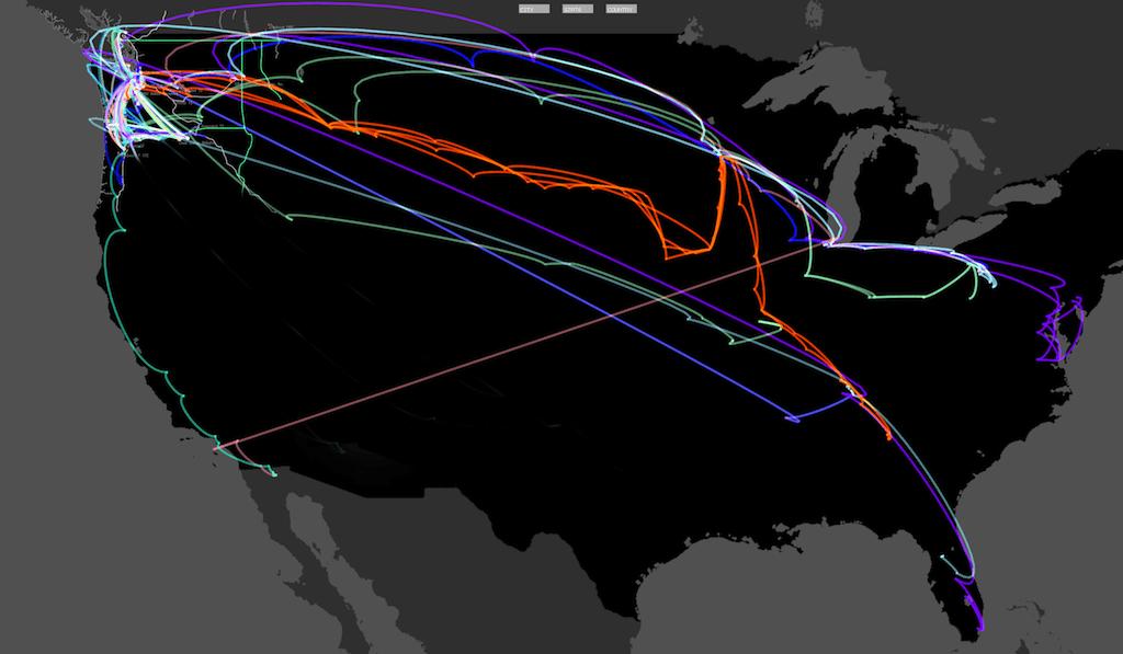 Trash Track wins NSF visualization challenge