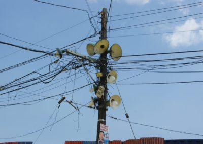 Manila streetlights